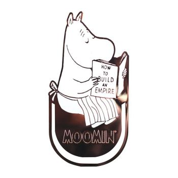Moomin Metal Bookmark- Mama Moomin