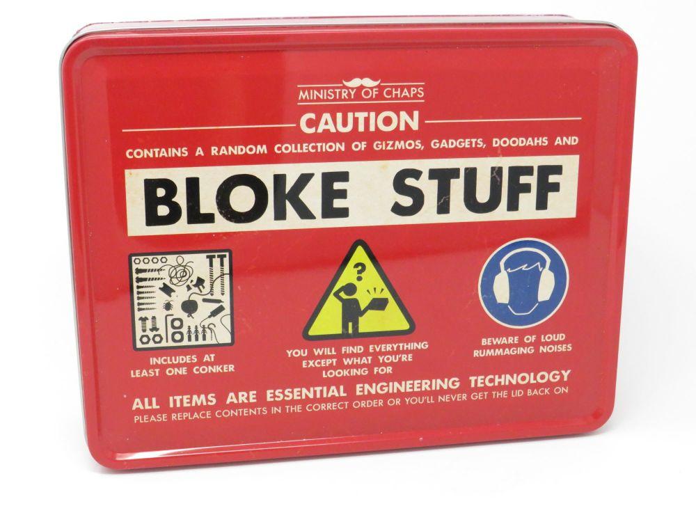 'Bloke Stuff' Tin- Ministry of Chaps