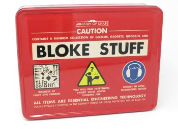 'Bloke Stuff' Tin- Ministry of Chaps