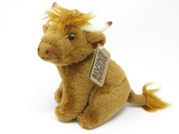 Highland Cow Living Nature Soft Toy