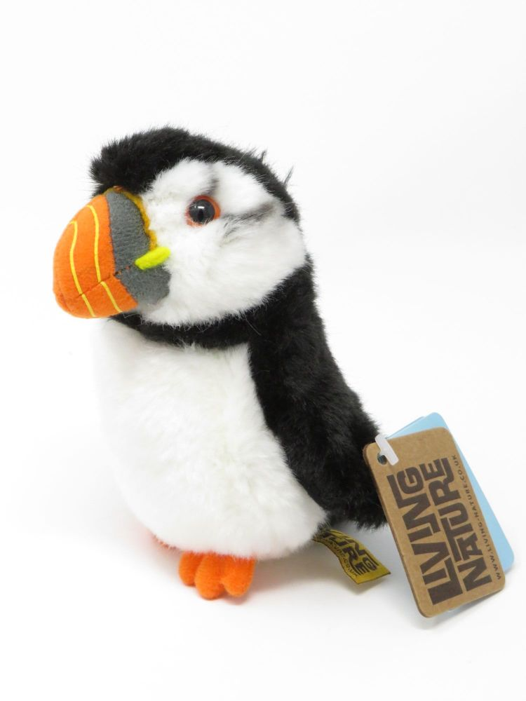 Small Living Nature Puffin Soft Toy