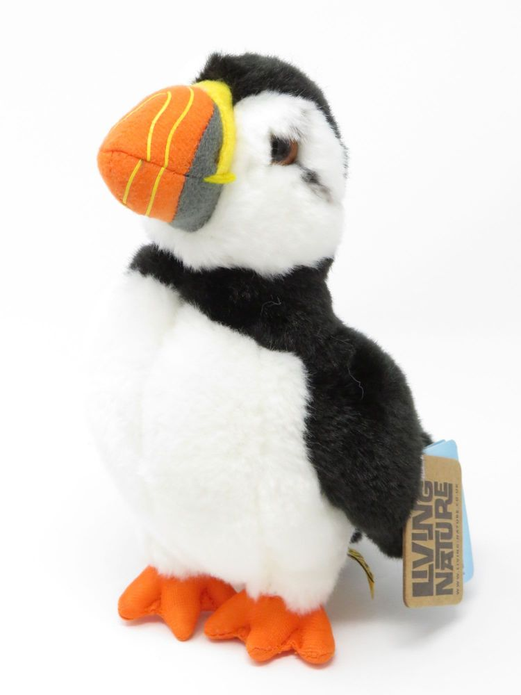 Puffin Living Nature Soft Toy