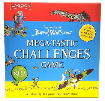 David Walliams Megatastic Challenges Game