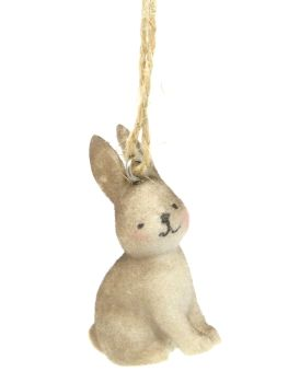 Brown Bunny Hanging Decoration