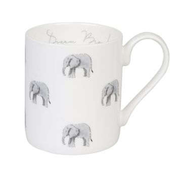 Sophie Allport Fine Bone China Elephant Mug