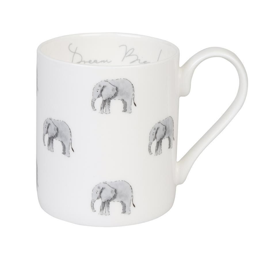 Sophie Allport Fine Bone China Elephant Mug