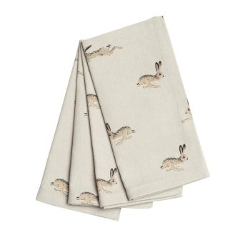 Sophie Allport Hare Napkins - Set of 4