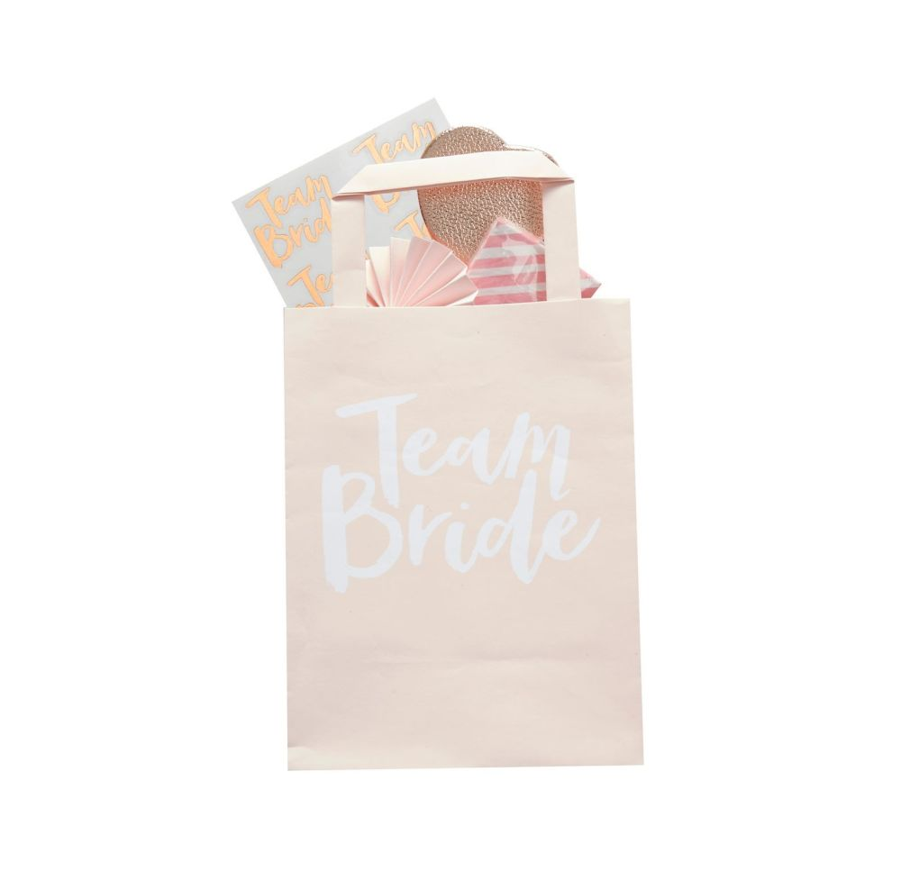 Ginger Ray 'Team Bride' Party Bags