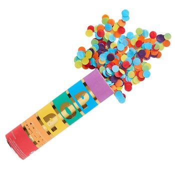 Ginger Ray Rainbow Confetti Cannon