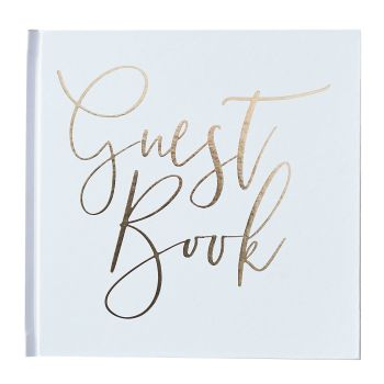 Ginger Ray Gold Foiled 'Guest Book'