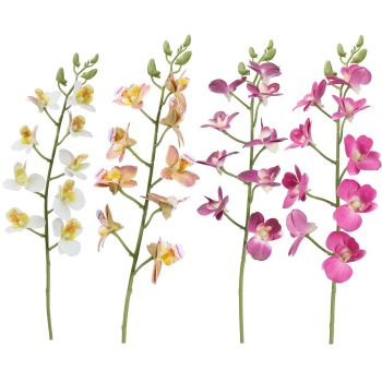 Gisela Graham Orchid Stem - 4 assorted