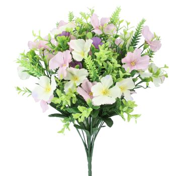 Gisela Graham Pink and White Cosmo Bunch