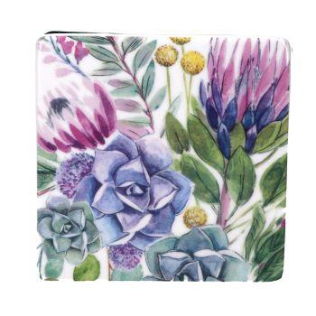 Gisela Graham Desert Blooms Ceramic Coaster