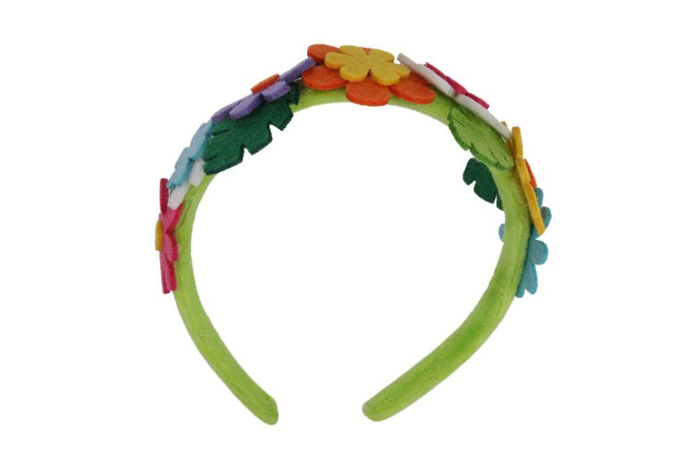 Gisela Graham Felt Floral Headband