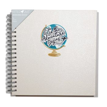 Travel '& So The Adventures Begin' Journal