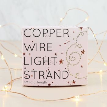 Copper LED Wire Strand of 30 Lights