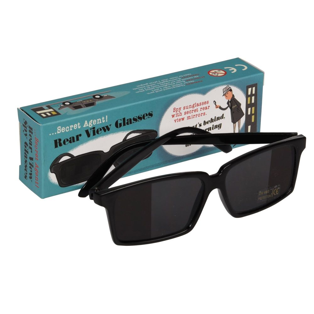 Secret Agent Rear View Spy Glasses