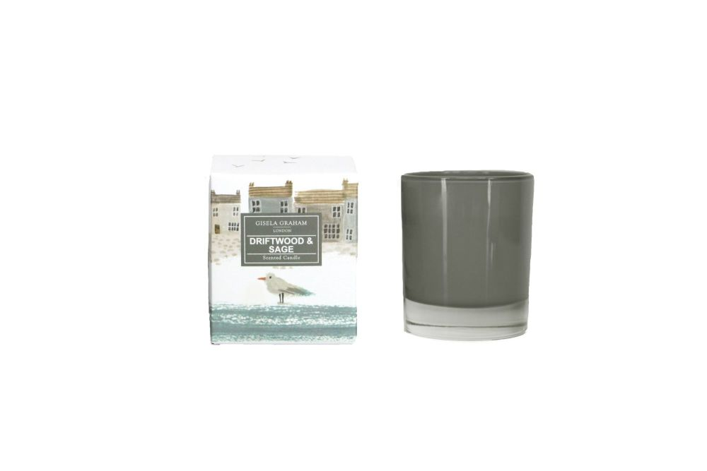 Gisela Graham Shoreline Scene Boxed Candle