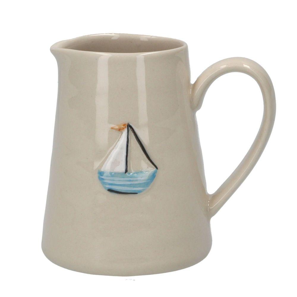 Gisela Graham Mini Ceramic Boat Jug