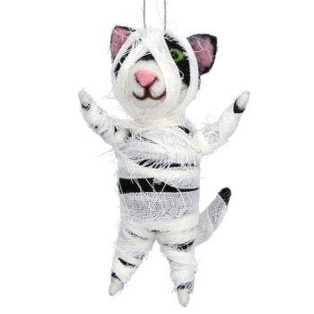 Gisela Graham Woollen 'Mummy' Cat