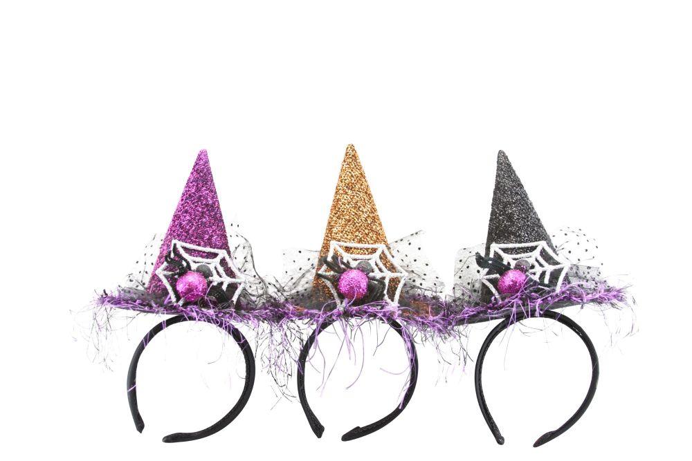 Gisela Graham Witches Hat Headband