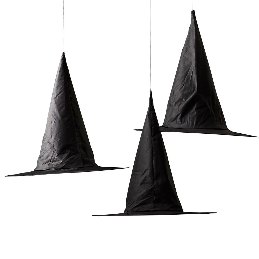 Ginger Ray Halloween Witches Hat Hanging Decorations