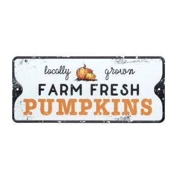 Pumpkin Farm Metal Sign