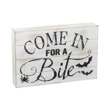 Come in for a Bite Plaque