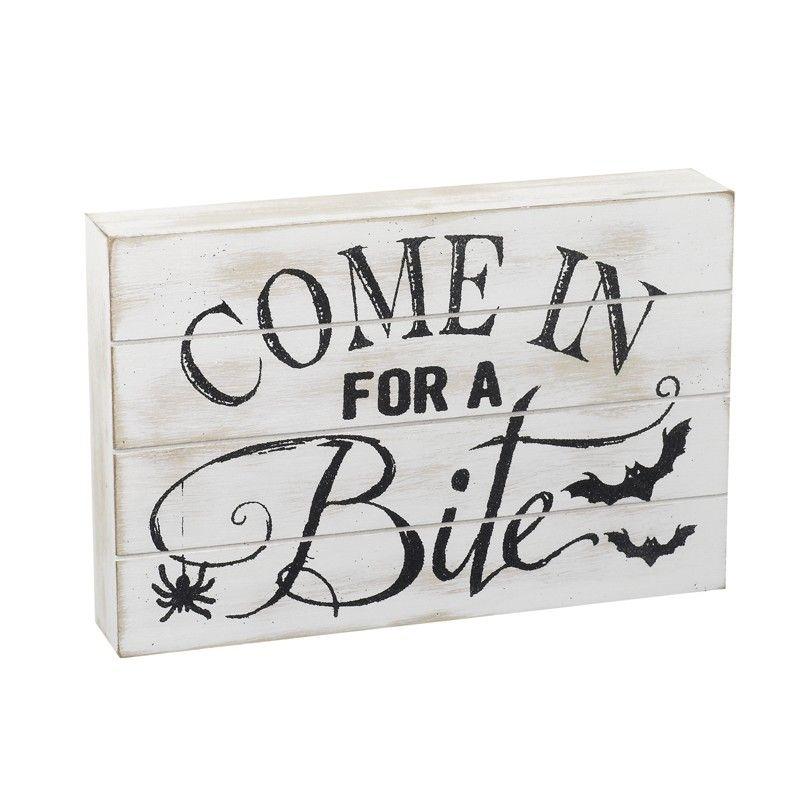 Come in for a Bite Plaque