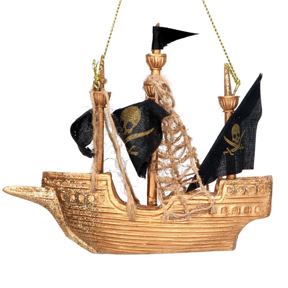 Gisela Graham Pirate Ship Decoration