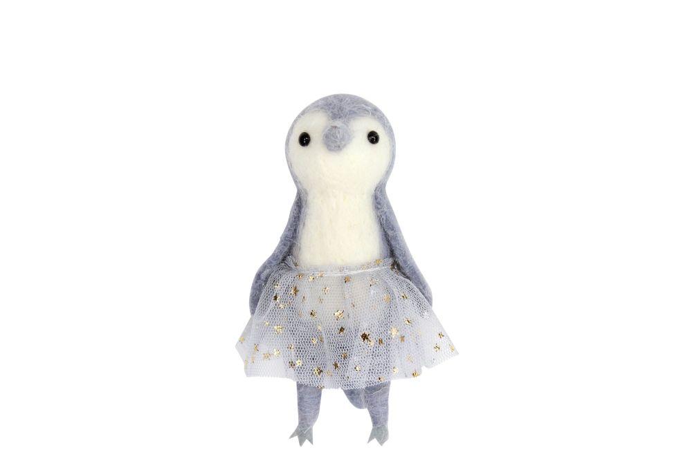 Gisela Graham Woollen Penguin in Tutu