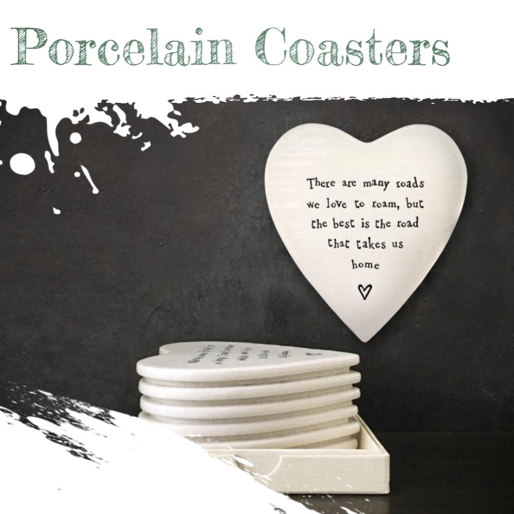 Porcelain Coasters