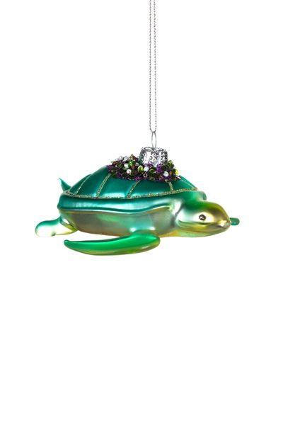 Shoeless Joe Green Sea Turtle Decoration