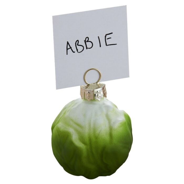 Ginger Ray Brussel Sprout Name Card Holder