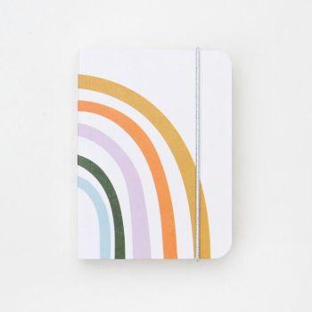 Caroline Gardner Rainbow Small Jotter Notebook