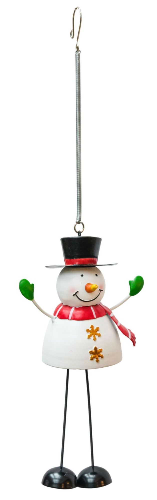 Fountasia Twinkle Toes Snowman Spring Decoration