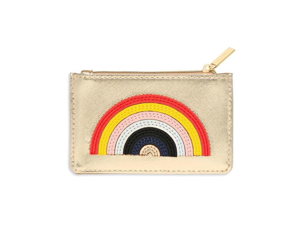 Estella Bartlett Rainbow Applique Card Purse