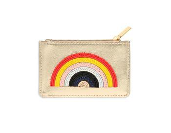 Estella Bartlett Applique Rainbow Card Purse