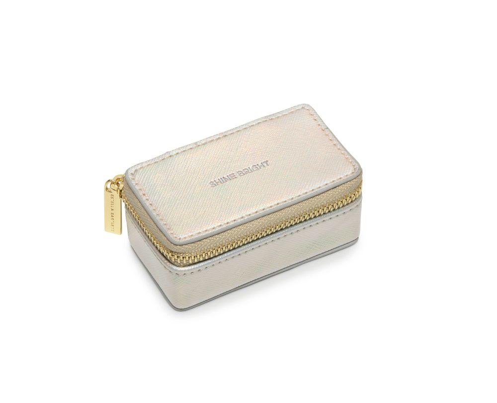 Estella Bartlett Iridescent 'Shine Bright' Mini Jewellery Box