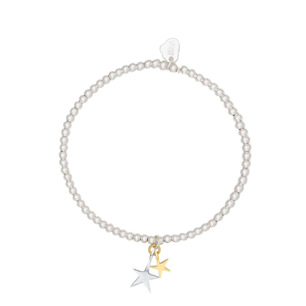 Estella Bartlett Sienna Double Star Bracelet