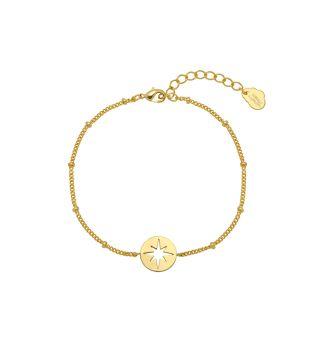 Estella Bartlett Starburst Disc Bracelet
