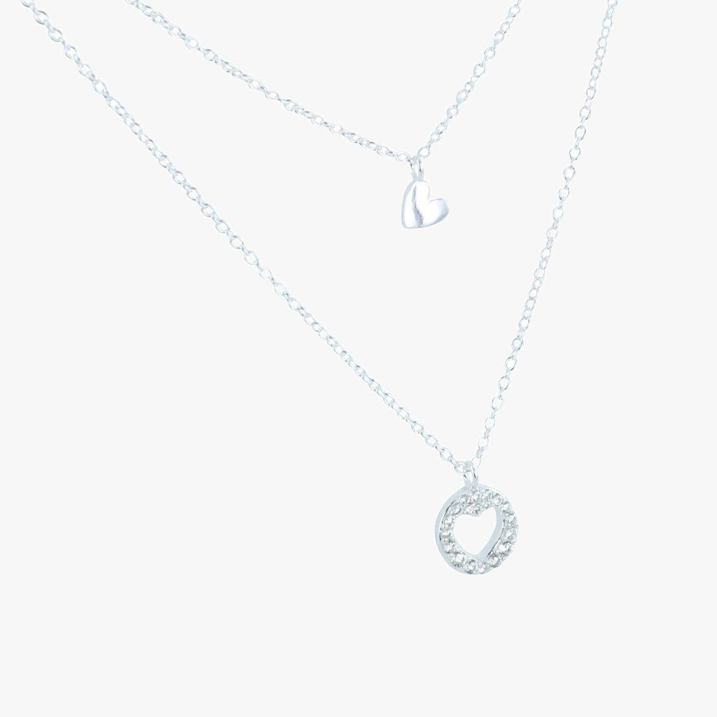 Sterling Silver Lyra Necklace