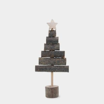 East of India Standing Stick Christmas Tree - Small