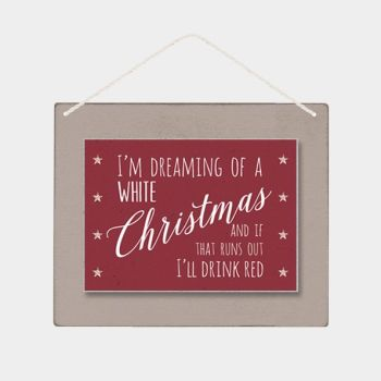 East of India 'Dreaming of a White Christmas' Sign