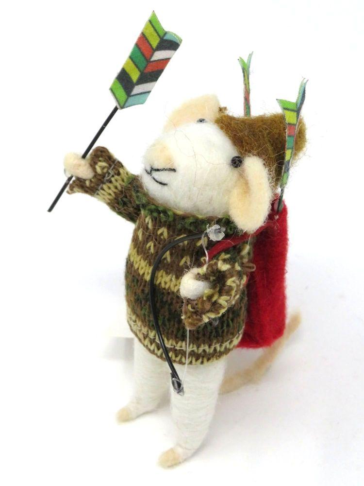 Felt Archer Mouse