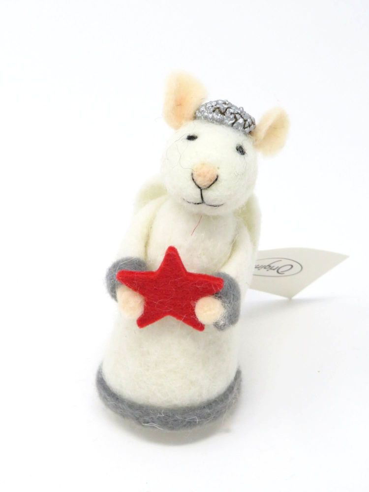 Felt Angel Gabriel Mouse