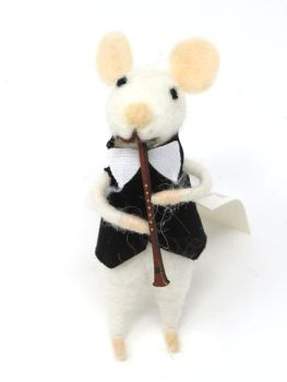 Felt Mouse with Clarinet