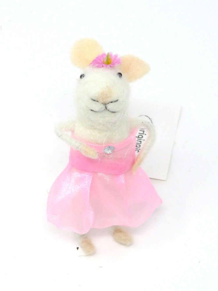 Felt Ballerina Mouse