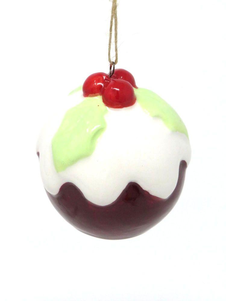 Ceramic Pudding Decoration