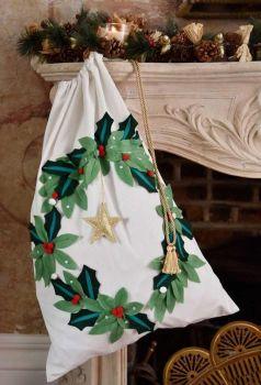 Holy Wreath Christmas Sack